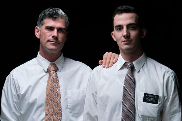 President Oaks, President Nelson and Elder Dudley in Atonement at Mormonboyz