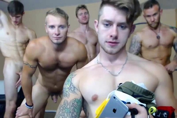 Hot liveshows starring Dakota Bryson, Damien Michaels, Dustin Jones, Jaden Storm, Jake Karhoff, Stone Sully and Tony Striker at Voyeurboys
