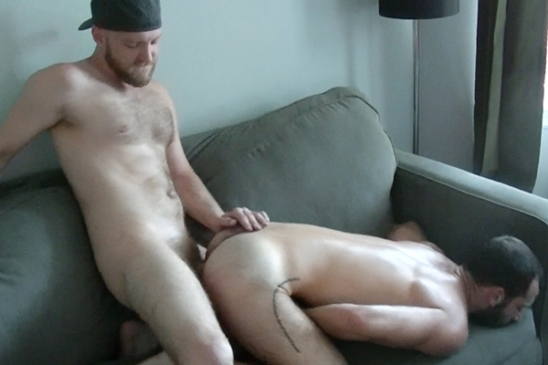 Deviant Otter barebacks his hairy fuck buddy Stephen Harte in Raw Otter Stuff at Deviantotter