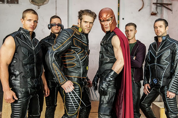 Paddy O'Brian, Brenner Bolton, Colby Keller, Paul Canon, Landon Mycles, Mike De Marko in X-Men Gay XXX Parody Part 4 at Men