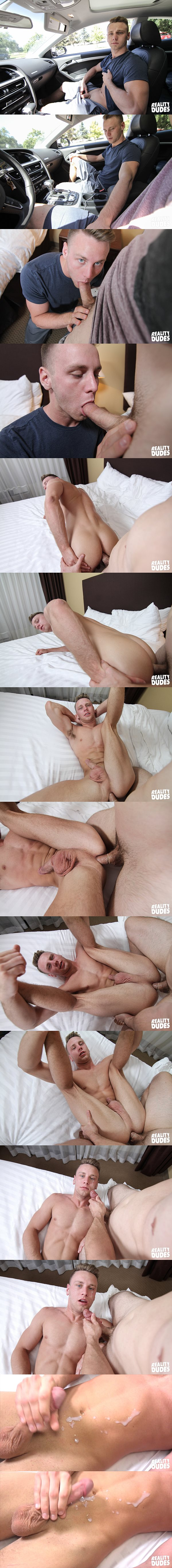 Hot straight jock Brandon (aka Brandon Evans) get fucked at Realitydudes