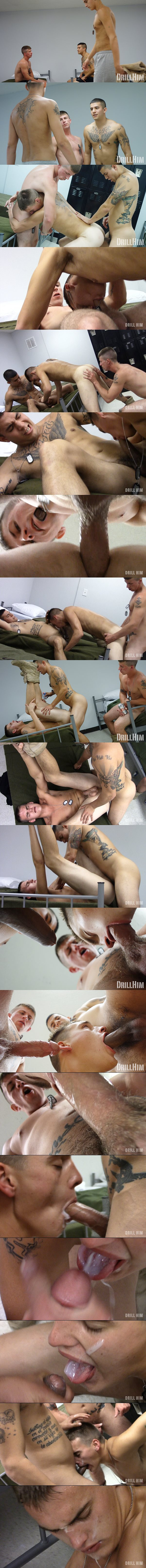 Tony Conner and Joey Rico barebacks Broc in PVT Pumped and Dumped at Drillhim 02