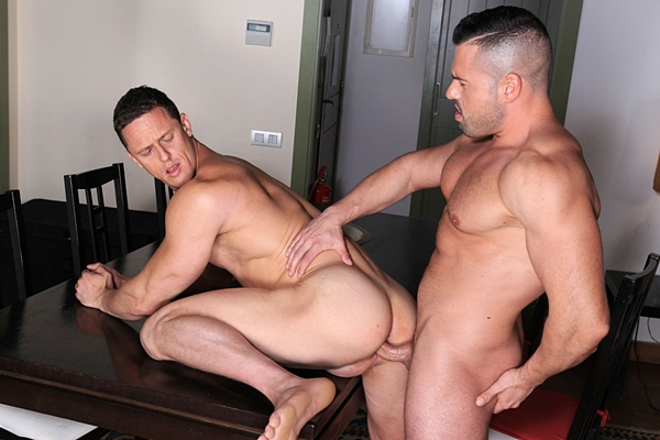 Gabriel Lunna and Ivan Gregory flip-fuck raw at Kristenbjorn