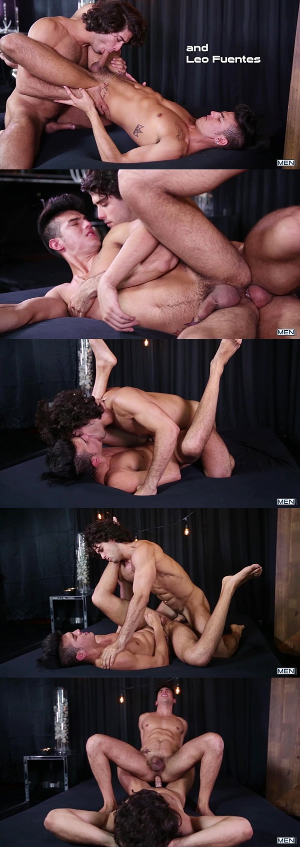 Diego Sans fucks hot newcomer Leo Fuentes at Men