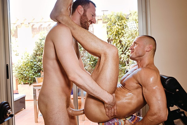 Tim Kruger power fucks new Russian beefy stud Denis Sokolov at Timtales