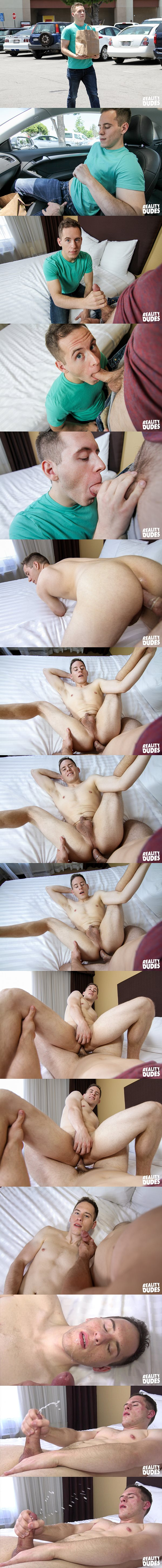 The cameraman fucks hot straight jock Alex's tight virgin ass at Realitydudes 02