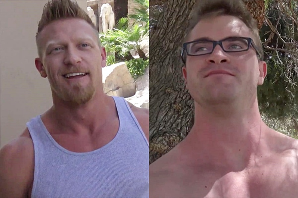 A sneak peek of Max London and Scott Ambrose's bottoming debut at Realitydudes
