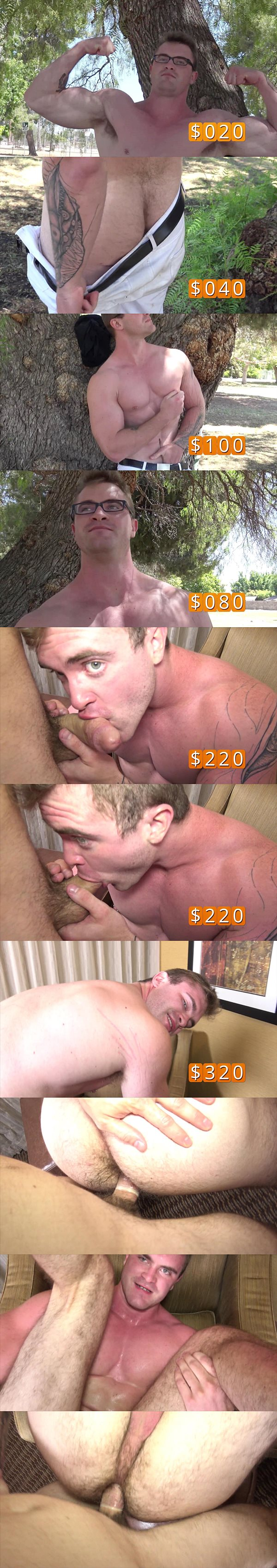A sneak peek of new recruit Scott Ambrose's bottoming debut at Realitydudes