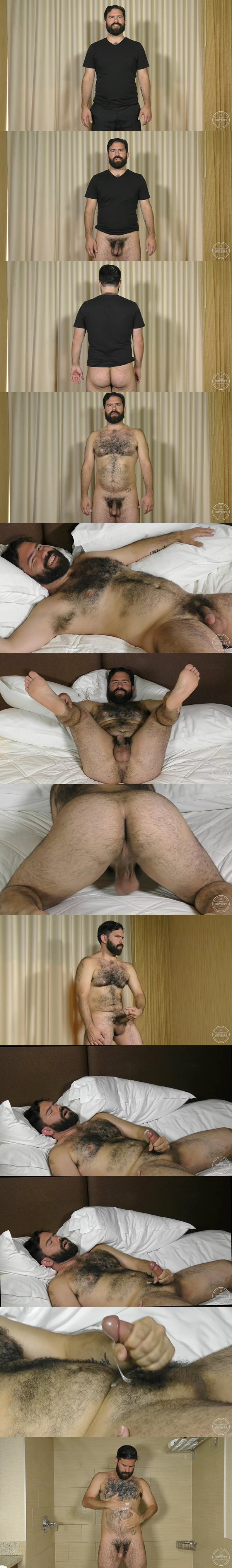 Hot fuzzy stud Daniel enjoys an extra long orgasm at Theguysite