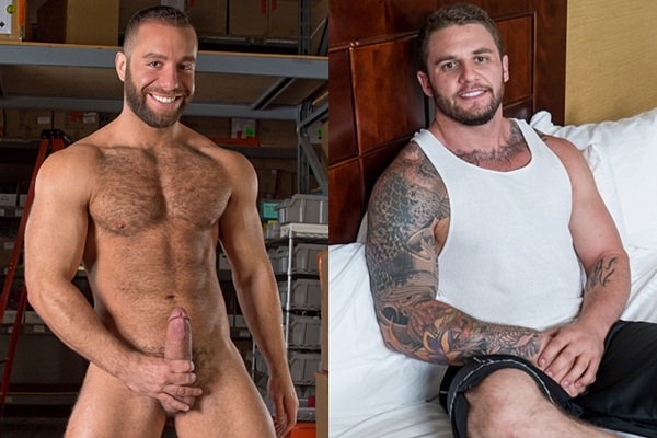Hot muscle hunk Eddy CeeTee and Rocke will get fucked for the first time