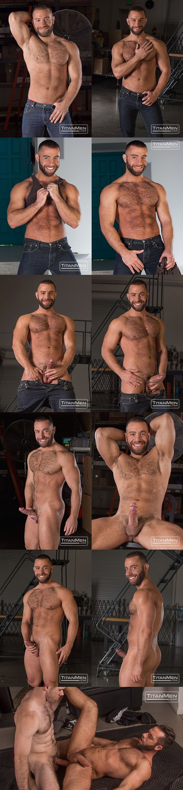 Hot masculine hunk Eddy CeeTee's bottoming debut at Titanmen