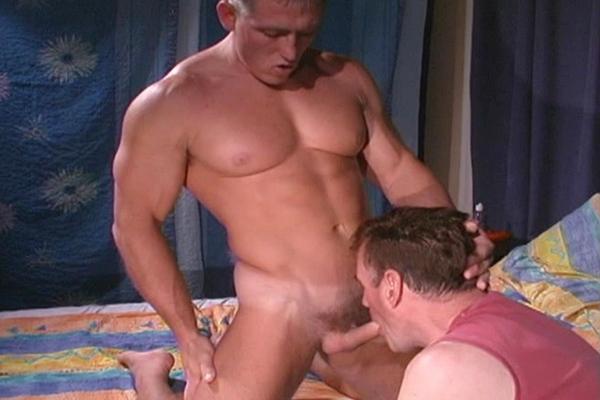 Hot muscle jock Peitor fucks straight hunk Sven's virgin ass at Like-em-straight