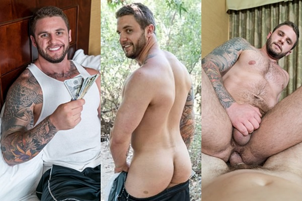 Hot tattooed muscle hunk Rocke gets his virgin ass popped up at Realitydudes