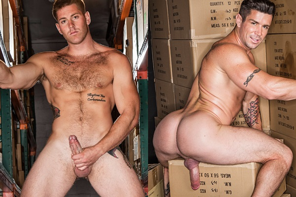 Handsome muscle jock Jason Phoenix flip-fucks muscle daddy Trenton Ducati at C1r
