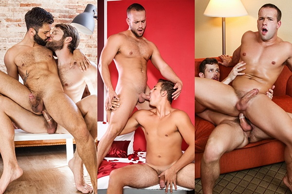 Hot new scenes starring Colby Keller, Hector De Silva, Luke Adams, Charlie Pattinson, Kurtis Wolfe at Men