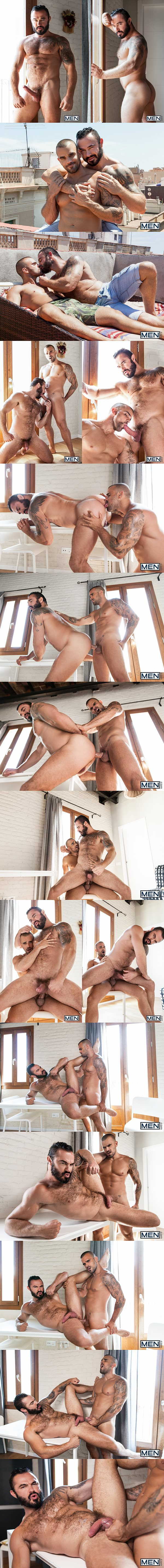 Damien Crosse fucks hot hairy muscle hunk Jessy Ares in A Return at Drillmyhole 02