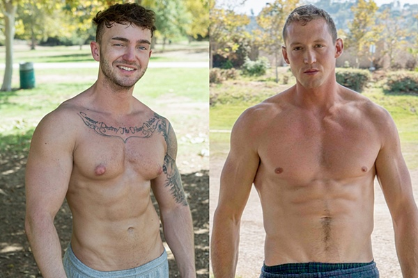 Hot muscle jocks Jake Ashford and Pierce Hartman get fucked at Realitydudes