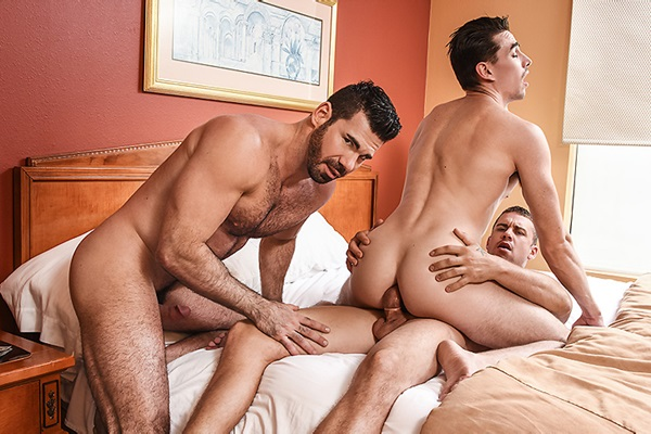 A Sneak Peek of Darin Silvers fucking Jack Hunter & Billy Santoro at Drillmyhole