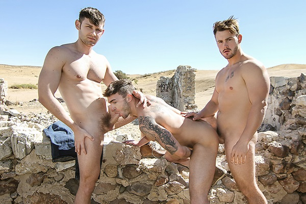 A Sneak Peek of Trevor Long fucking Jake Ashford & Jacob Peterson at Drillmyhole