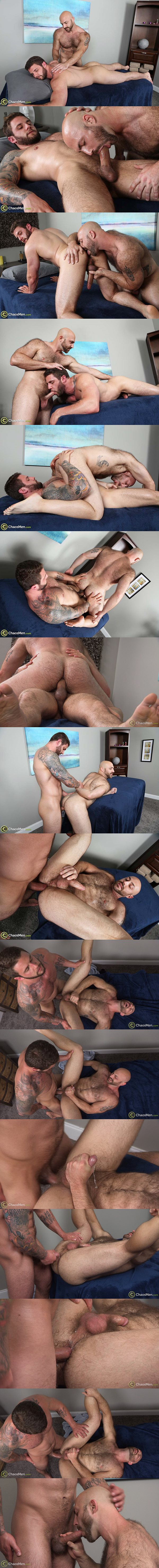 Hot straight muscle hunk Ronin breeds sexy hairy stud Tatum Parks at Chaosmen 02
