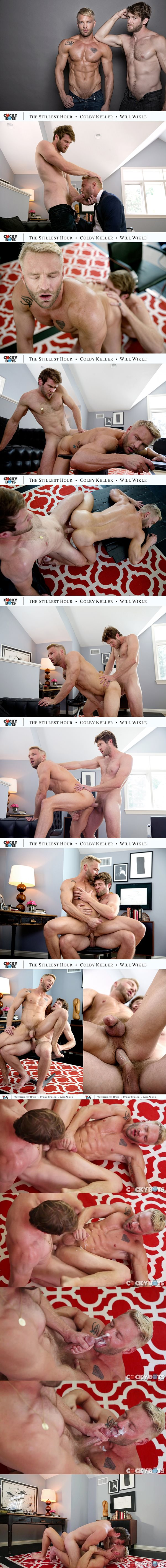 Colby Keller fucks former reality star Will Wikle's tight virgin ass in The Stillest Hour Part Two at Cockyboys 02