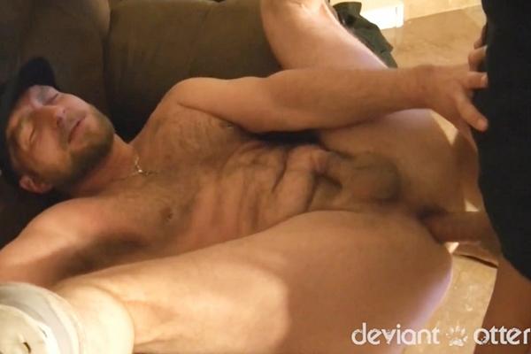 Hunky Austin Andrews breeds hot ginger stud Deviant Otter in Wreck Me Seed Me at Deviantotter