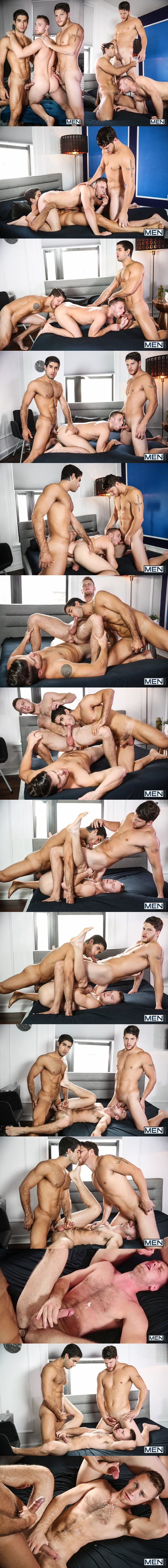 Ashton McKay and Diego Sans tag team Brandon Evans in Speed Dating at Drillmyhole 02