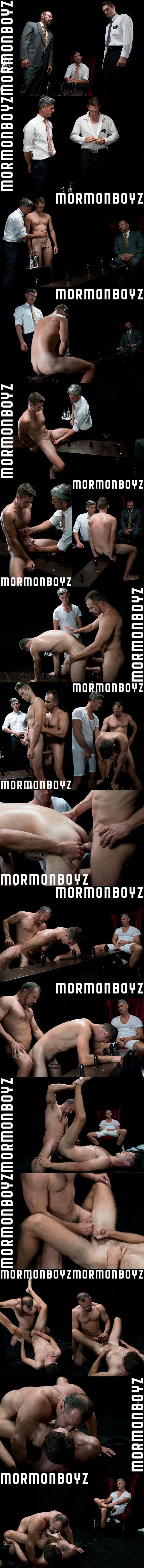 Macho daddy President Ballard barebacks Elder Dobrovnik in Atonement at Mormonboyz 02