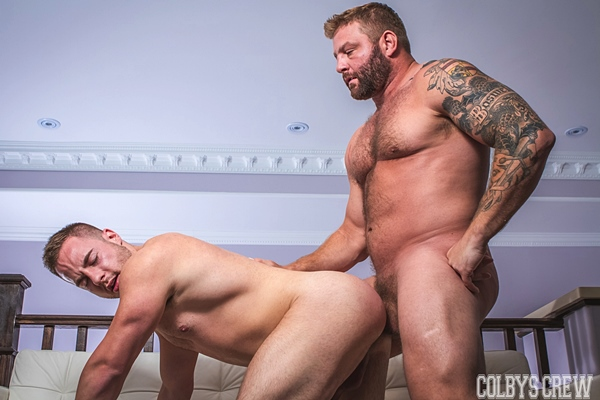 Colby Jansen fucks muscle hunk Tobias James in The Ex-Girlfriend at Colbyscrew