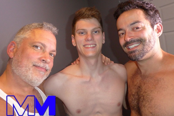 Cole and Hunter bareback a cute mormon boy fan in Fill My Hetero Hole at Maverickmen