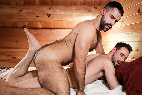 A Sneak Peek of Teddy Torres fucking Marco Gagnon at Drillmyhole