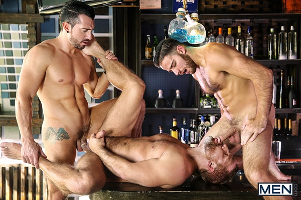Jimmy Durano fucks Dirk Caber and Jackson Grant in Heartbreakers Part 2 at Drillmyhole