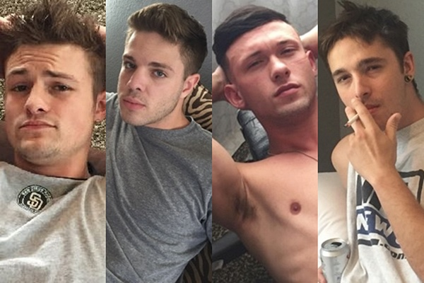 The model list of 19 hot new frat dudes at Fraternityx