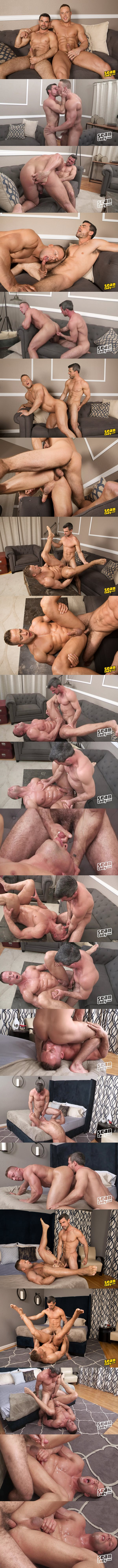 Daniel barebacks and breeds big muscle hunk Jack at Seancody 02