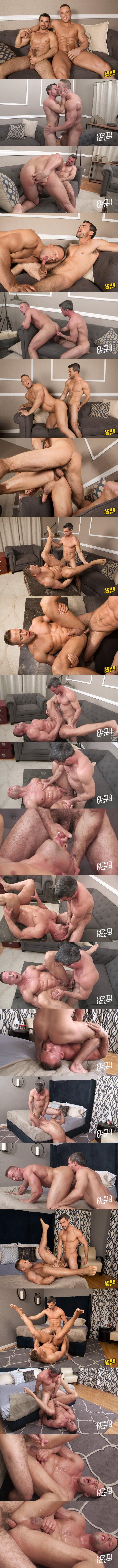 Daniel barebacks and breeds big muscle hunk Jack at Seancody 02