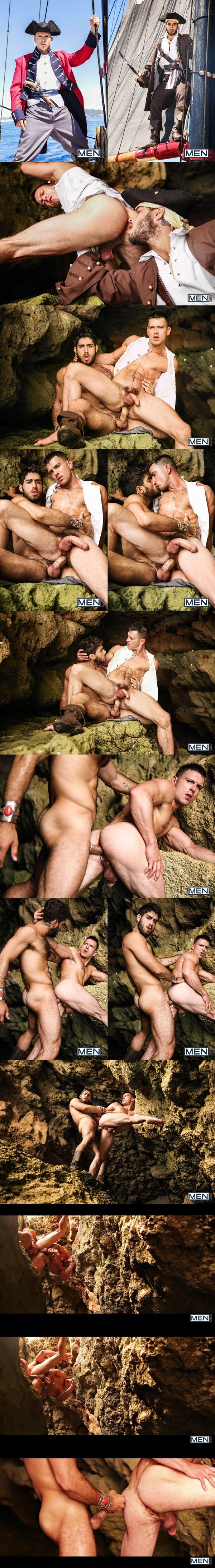 Diego Sans fucks Paddy O'Brian in Pirates A Gay XXX Parody Part 4 at Men 02