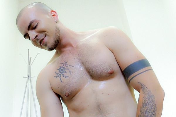 A tough straight muscle jock gets his virgin ass popped up raw in Dirty Scout 90 at Dirtyscout