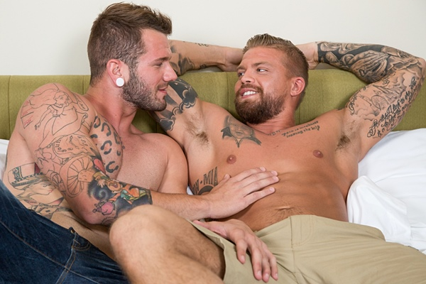 Johnny Hill fucks masculine MMA fighter Donovan Wilde at Nextdoorbuddies