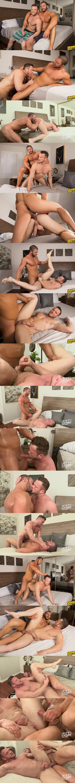 Buff hunk Arnie barebacks and breeds big dicked Sean at Seancody 02