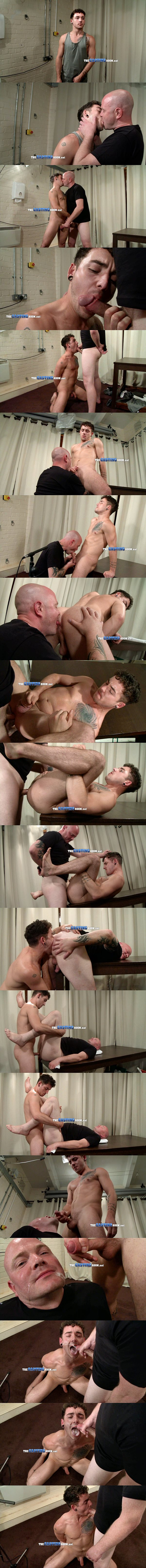 Hot young man Jack Green flip-fucks skinhead Dave at Thecastingroom 02