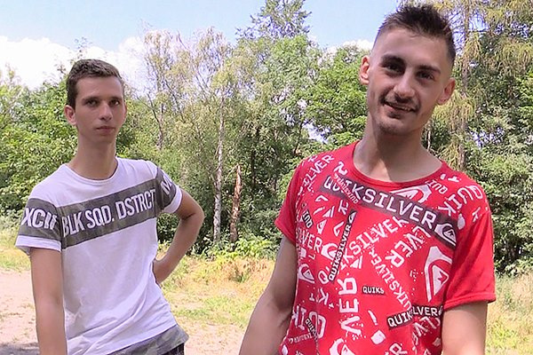 Hot straight jock Pata gets his cherry popped up raw in Czech Hunter 314 at Czechhunter
