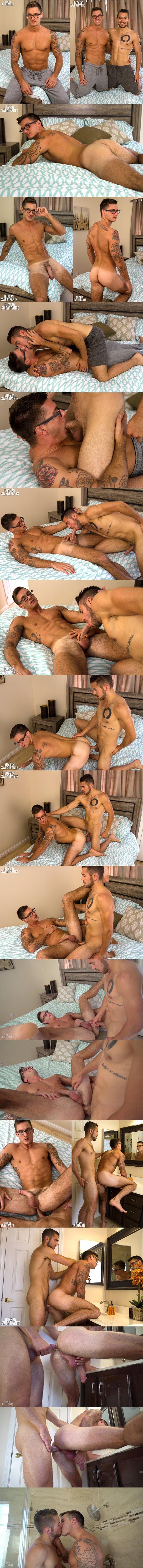 Dante Colle barebacks handsome straight jock Clark Parker at Guysinsweatpants 02