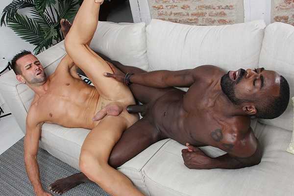 Peter Conner barebacks newcomer Mikel Duke in Casting Couch #373 at Kristenbjorn