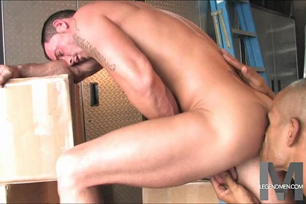 Noah Ridge and Alec Calderon suck each other's dicks before they jerk off at Legendmen