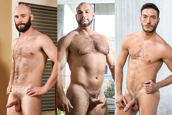Men - Hunter Adrian, Marco Vallant and Rico Fatale