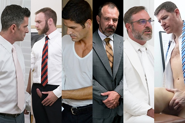 Hot mormon daddies Bishop Eldridge, Bishop Gibson, Bishop Stevenson, President Ballard, President Faust and President Olsen at Mormonboyz