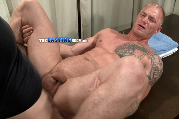 Hot bisexual British muscle jock Ryan flips fucks Adrian in his Second Audition at Thecastingroom