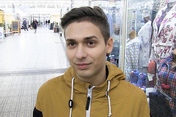 The cameraman bareback a cute college student in Czech Hunter 342 at Czechhunter