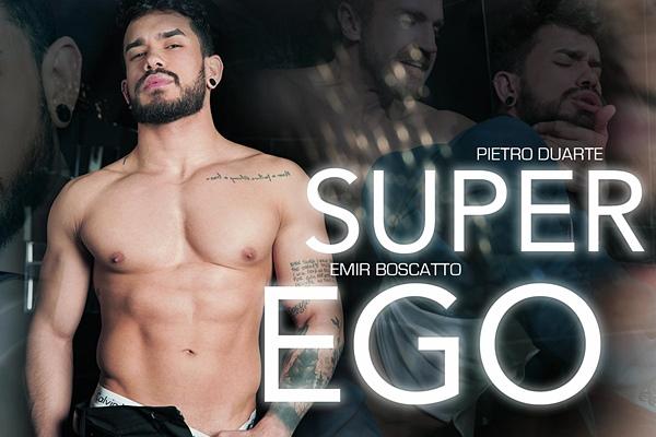 Emir Boscatto fucks hunky newcomer Pietro Duarte in Super Ego at Menatplay