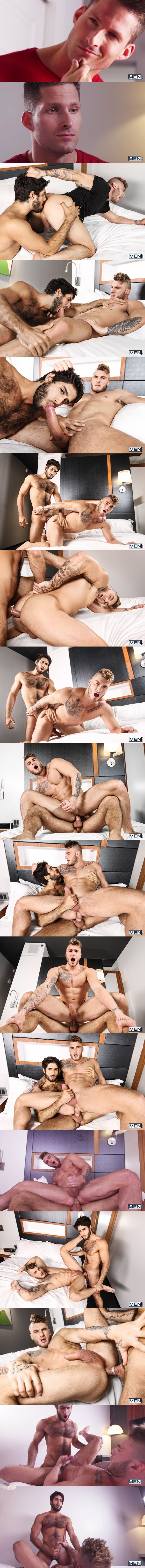 Diego Sans fucks the cum out of canadian beefcake William Seed in Cheaters Part 1 at Drillmyhole 02